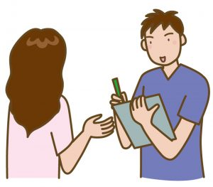 顔面神経麻痺の患者問診